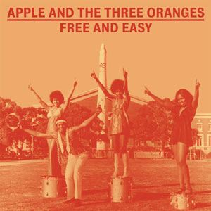 APPLE AND THE THREE ORANGES - Free and easy - LP x 2 