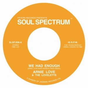 ARNIE LOVE - We had enough - 45T (SP 2 titres)