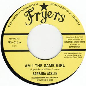 BARBARA ACKLIN - Am I the same girl / Love makes a Woman - 7inch (SP)