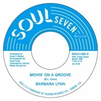 BARBARA LYNN - Movin' on  a groove / Nice and easy - 45T (SP 2 titres)