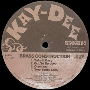 BRASS CONSTRUCTION - Take it easy - LP