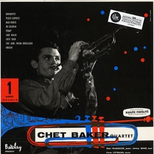 CHET BAKER QUARTET - Same - LP