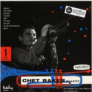 CHET BAKER QUARTET - Same - LP