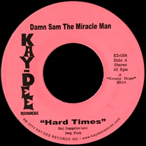 DAMN SAM THE MIRACLE MAN - Hard times / Smash Pt2 - 7inch (SP)