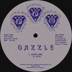DAZZLE - In the Disco - Play it - Explain - 12 inch 45 rpm