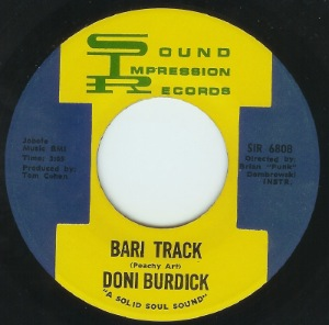 DONI BURDICK - I have faith in you - 7inch (SP)