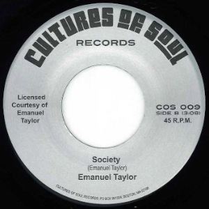 EMMANUEL TAYLOR - Society / You really got a hold on me - 7inch (SP)
