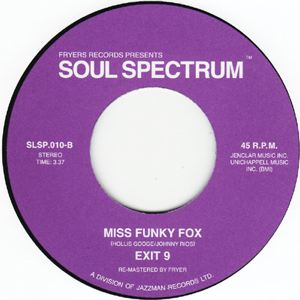 EXIT 9 - Miss Funky Fox - 7inch (SP)