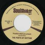 PHAT FRED / THE POETS OF RHYTHM - Stay on the groove / Patrice what you preach - 7inch (SP)