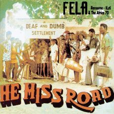 FELA KUTI - He miss road - LP