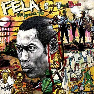 FELA KUTI - Sorrow, tears and blood - LP