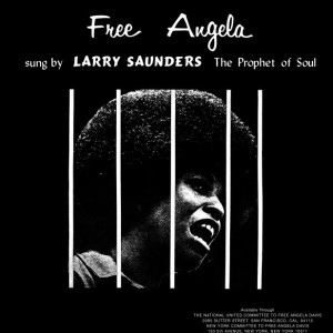 LARRY SAUNDERS - Free Angela - LP