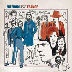 VARIOUS - Freedom Jazz France - LP