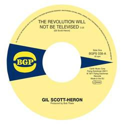 GIL SCOTT HERON - Home is where the hatred is - The revolution will be televised - 45T (SP 2 titres)