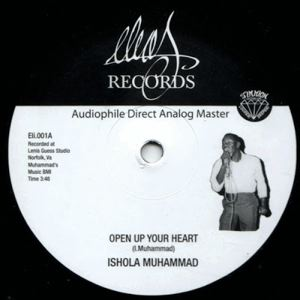 ISHOLA MUHAMMAD - open your heart - 12 inch 45 rpm