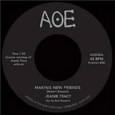 JEANIE TRACY - Making new friends / Trippinin on the sound - 45T (SP 2 titres)