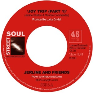 JERLINE AND FRIENDS - Joy trip / Get it off my conscience - 7inch (SP)
