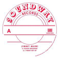 JIMMY MAWI - I want get up - LP