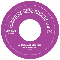 JODESHA AND STAR RIDE - The answer - 7inch (SP)