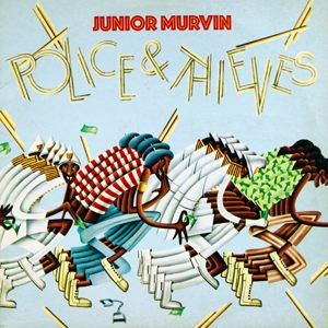 JR. MURVIN - Police and Thieves - LP