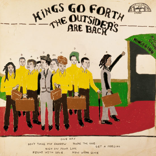 KINGS GO FORTH - The outsiders are back - LP