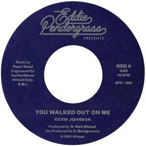 KEVIN JOHNSON - You walked out on me - 45T (SP 2 titres)
