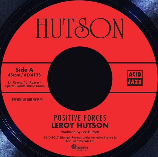 Leroy Hutson Positive forces