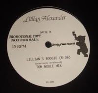 LILLIAN ALEXANDER - Lillian's Boogie - 12 inch 45 rpm