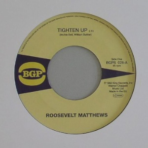 MARIE 'QUEENIE' LYONS / ROOSEVELT MATTHEWS - See and don't see / Tighten up - 7inch (SP)