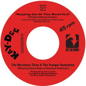 THE MARVELOUS THREE & THE YOUNGER GENERATION - Rapping out of this world pt1 - 7inch (SP)