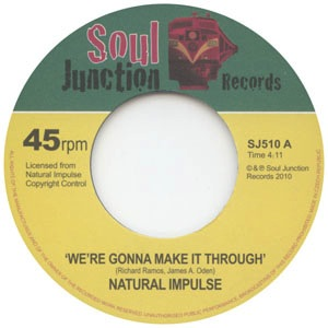 NATURAL IMPULSE - We're gonna make it through / Make it or break it - 7inch (SP)