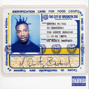 OL' DIRTY BASTARD - Return to the 36 chambers - LP