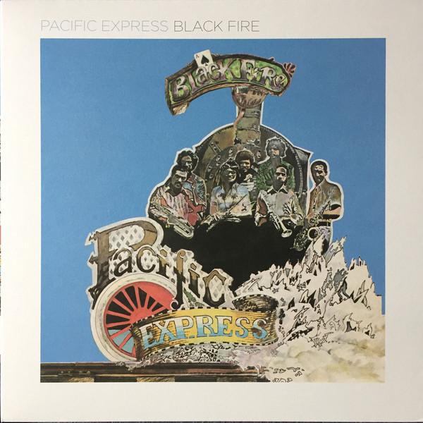 PACIFIC EXPRESS - Black fire - LP