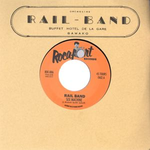 RAIL BAND - Sex machine / Massare mousso - 45 RPM (SP 2 títulos)