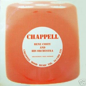 RENE COSTY AND HIS ORCHESTRA - Chappell Mood Music Vol. 26 - 33T