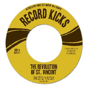 THE REVOLUTION OF ST VINCENT - The little you say - 7inch (SP)
