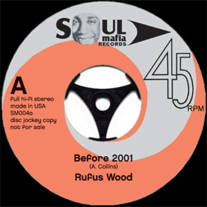 RUFUS WOOD / FRANK FOSTER - Before 2001 / Harlem rumble - 7inch (SP)