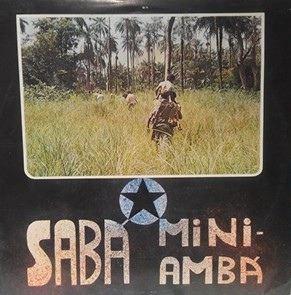 SABA MINIAMBA - Same - LP