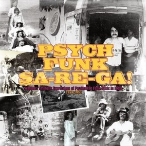 VARIOUS - Psych-Funk Sa-Re-Ga! - LP x 2