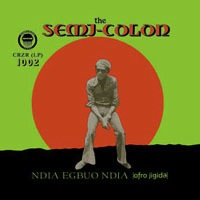 THE SEMI-COLON - Afro Jigida - LP