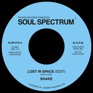 SHAKE - Lost in space - 45T (SP 2 titres)