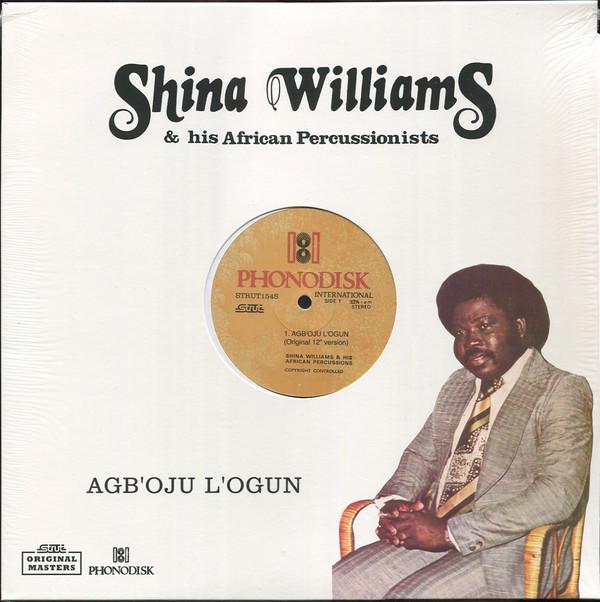 Shina Williams and his African Percussions Agb'oju l'ogun