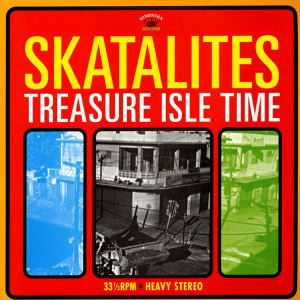 SKATALITES - Treasure isle time - LP