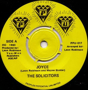 THE SOLICITORS - Joyce - 7inch (SP)