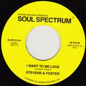 STEVENS & FOSTER - I want to be love - 7inch (SP)