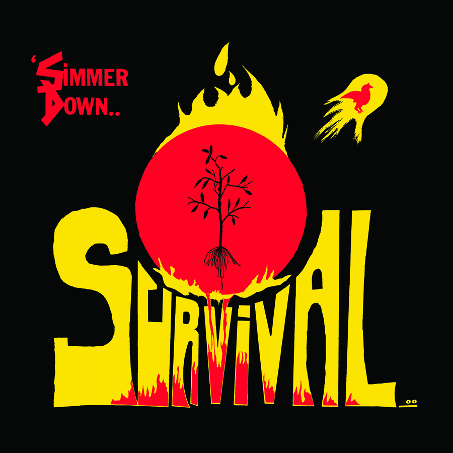 SURVIVAL - Simmer Down - LP