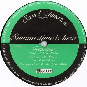 THEO PARRISH - Summertime is here - Maxi 45T