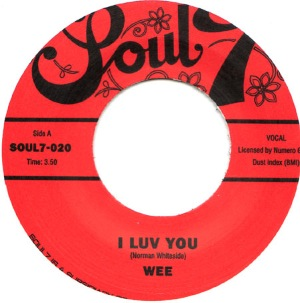 WEE - I luv you / I want to show you - 7inch (SP)